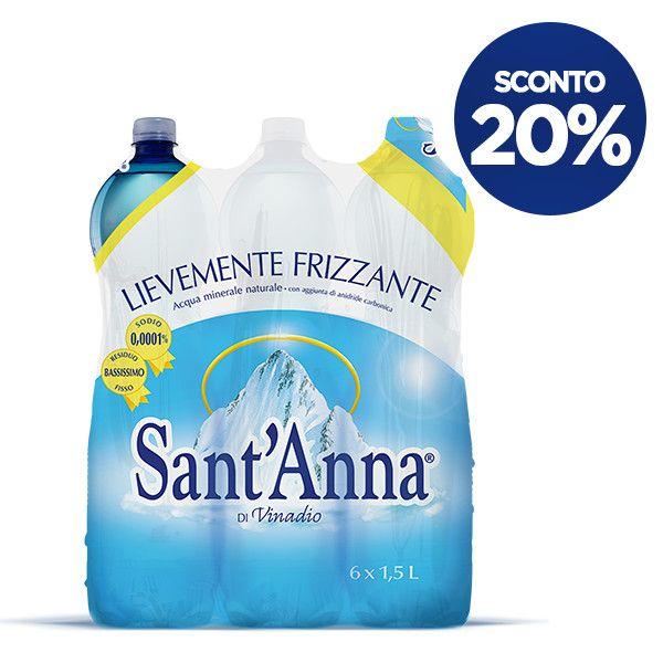 Acqua Sant'Anna lievemente frizzante 1,5L