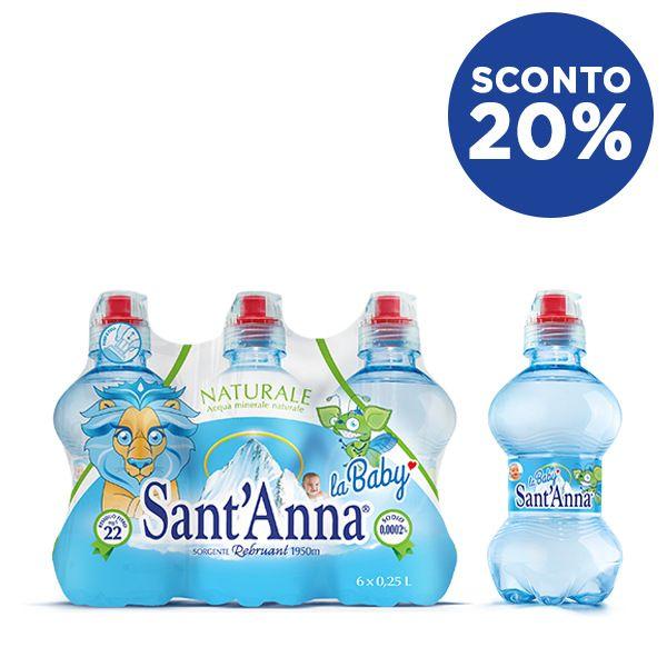 Acqua Sant'Anna Baby con sconto 20%
