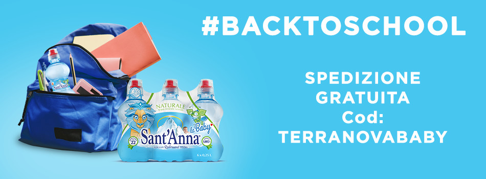 Banner promo Terranova back to school