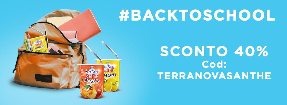 Banner promo Terranova back to school