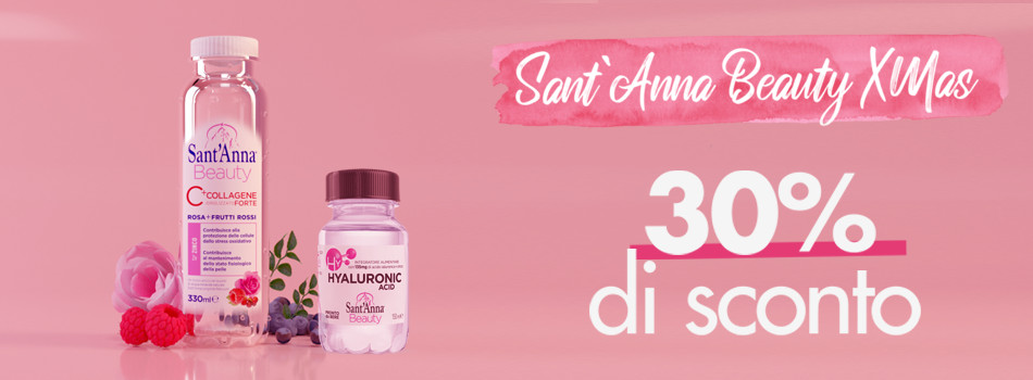 Xmas Beauty Sant'Anna promo speciale banner