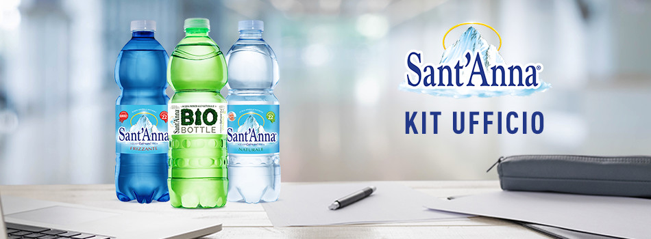 banner kit ufficio acqua sant'anna